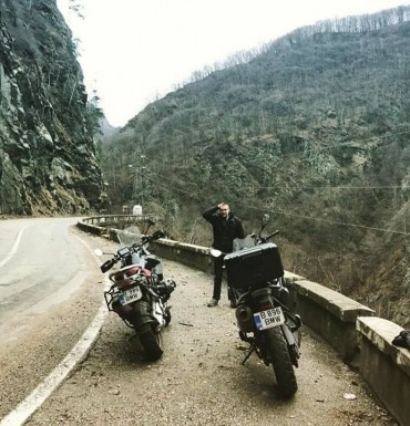 motorcycle rental ride on Transfagarasan
